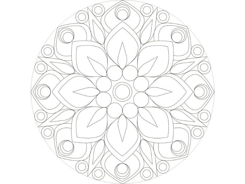 Mandala Tekenles Deel 1